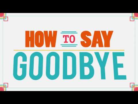 How to Say GOODBYE in Korean (to people leaving) | 90 Day Korean