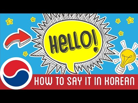 "How to Say ""Hello"" in Korean | 90 Day Korean"