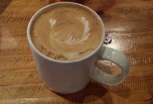 CafeLatte in a white mug