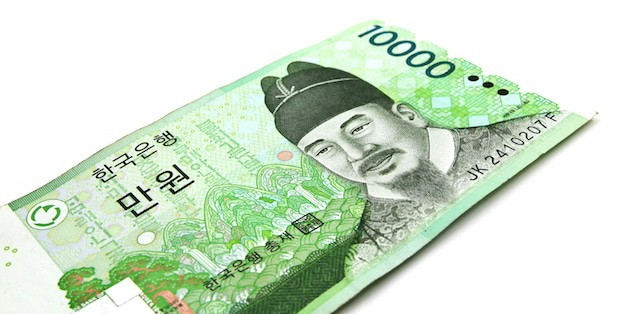 Korean Money 10000 Won Front