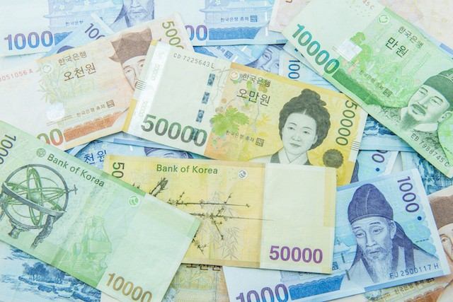 Korean Won Money
