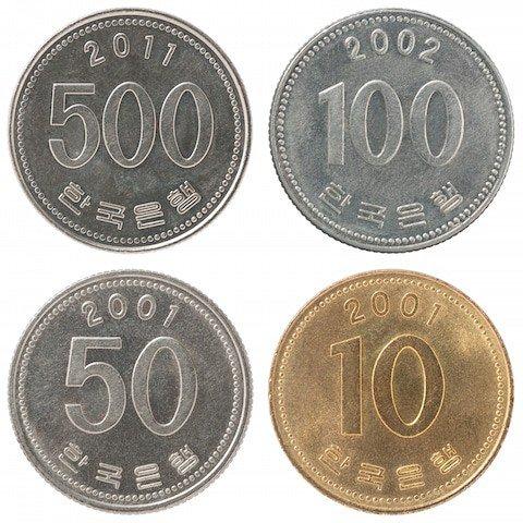 Korean Money Coins