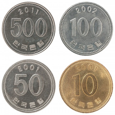 Korean Money Coins