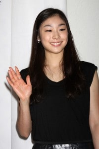 photo of Kim Yuna, a popular actress in South Korea.