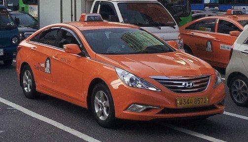 Korean Taxi