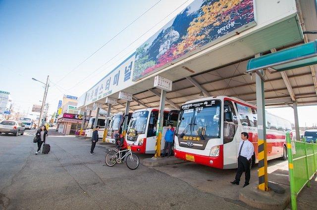 Sokcho Bus Station in Korea