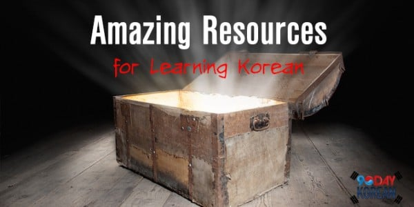 Amazing resources for learning Korean
