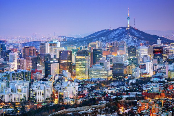 Downtown Seoul, South Korea
