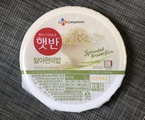 Korean instant brown rice Haetban