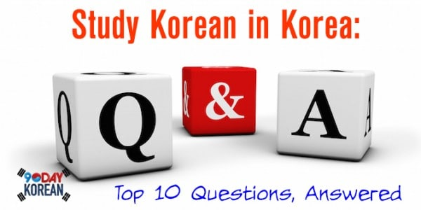 Study Korean in Korea
