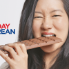 Korean Girls Taste American Snacks Phrases