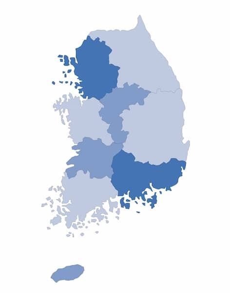 Korea dialects