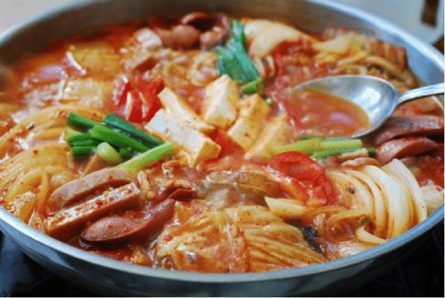 Korean Food 20 Army Stew