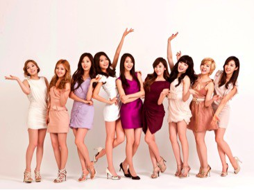 Picture of Korean girl group Girls Generation