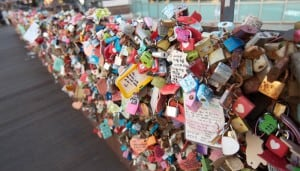 lock locks Namsam Tower