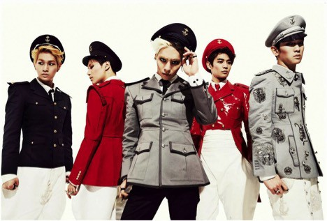 Korean Kpop Shinee