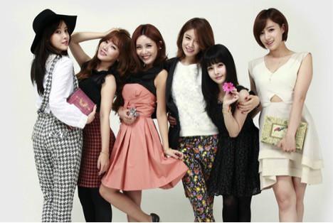 Korean Kpop T-ara