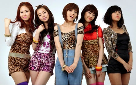 Korean Kpop WonderGirls