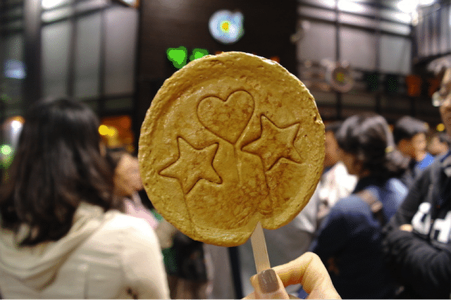 Korean Street Food 16 Sugar Lollipop