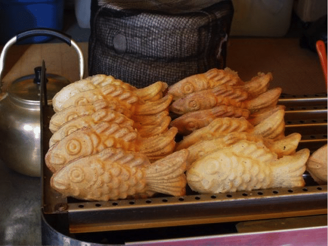 Korean Street Food 17 Goldfish Bread