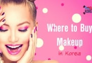 Where to buy makeup in Korea