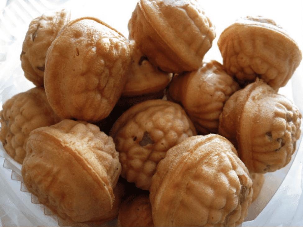 Korean Street Food Walnut pancake