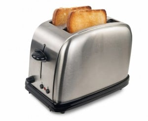 This image is to explain the Korean joke on toaster