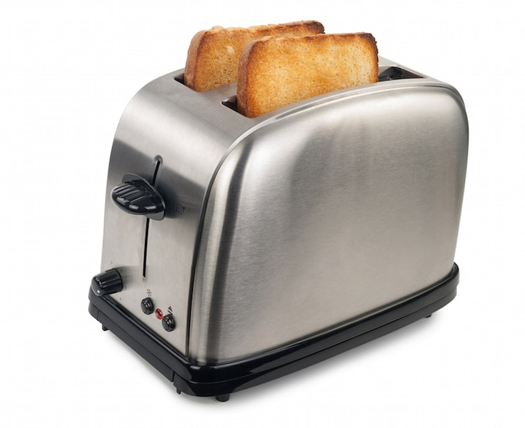 Korean joke toaster