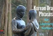 Korean Drama Phrases For Learning Korean