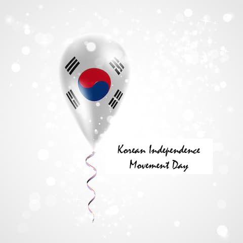 Korean Independence Movement Day in Korea
