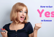 How to Say 'Yes' in Korean New