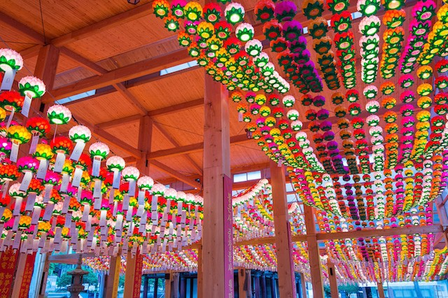 Lantern festival in Korea