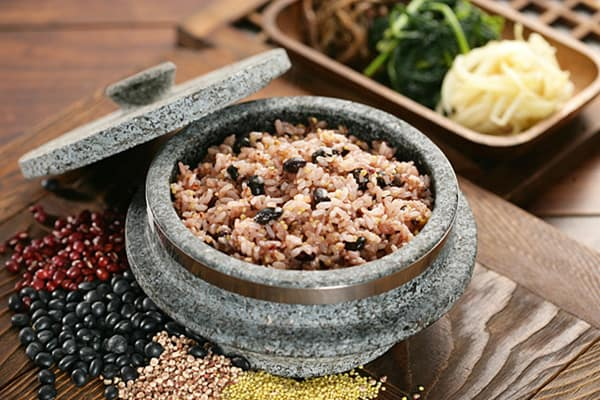 Korean Food Ogokbap