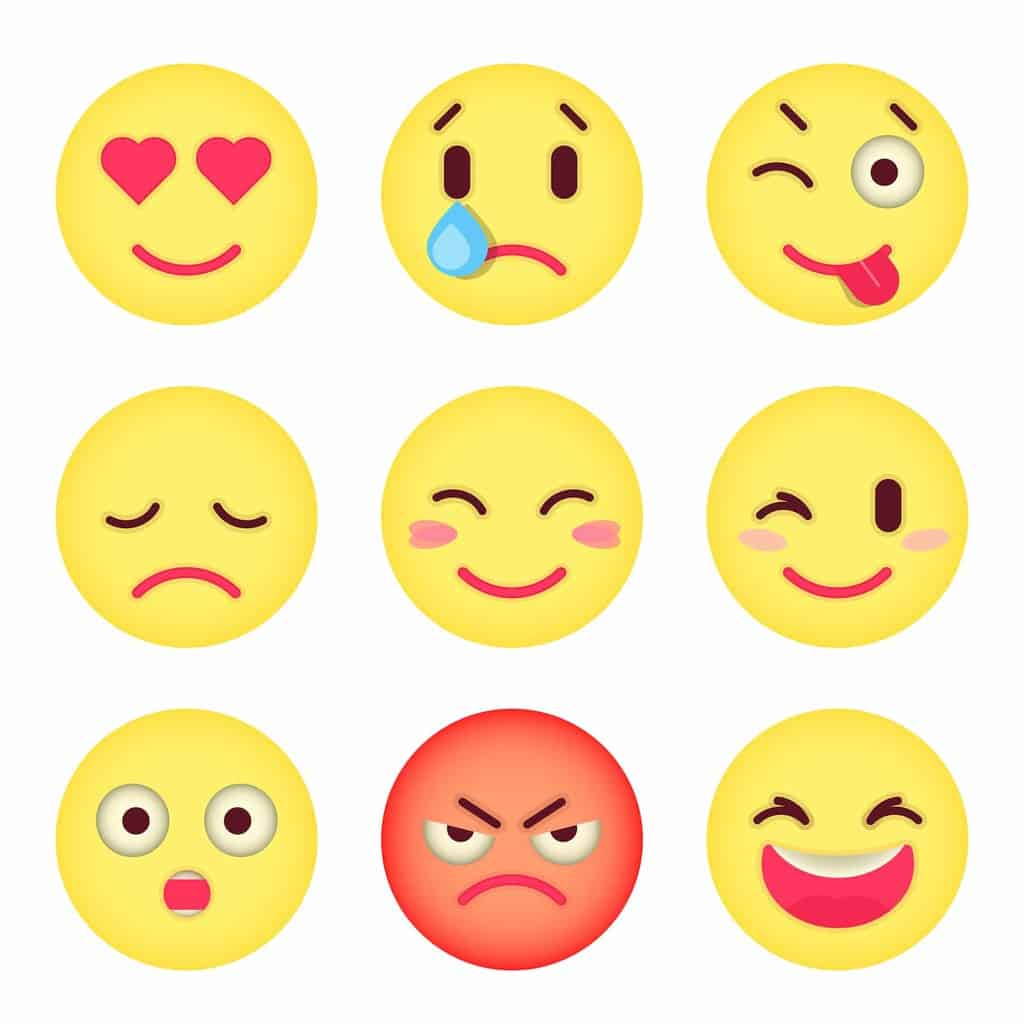 emoticons western and korean