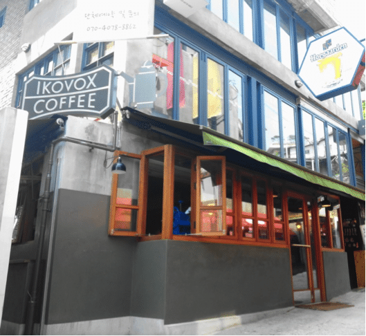 Korean Coffee Shops Ikovox