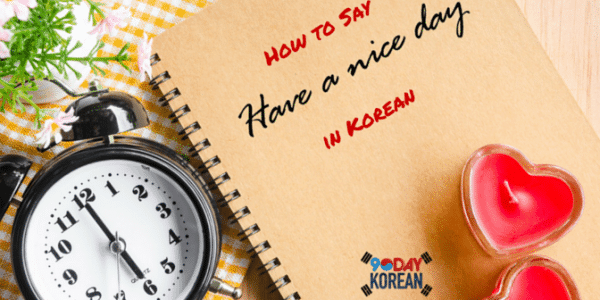 How to Say Have a Nice Day in Korean