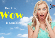 How to Say Wow in Korean
