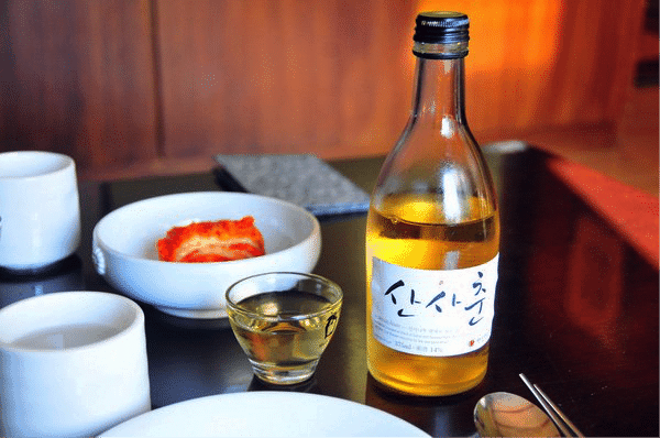 Korean Alcohol 6 sansachun
