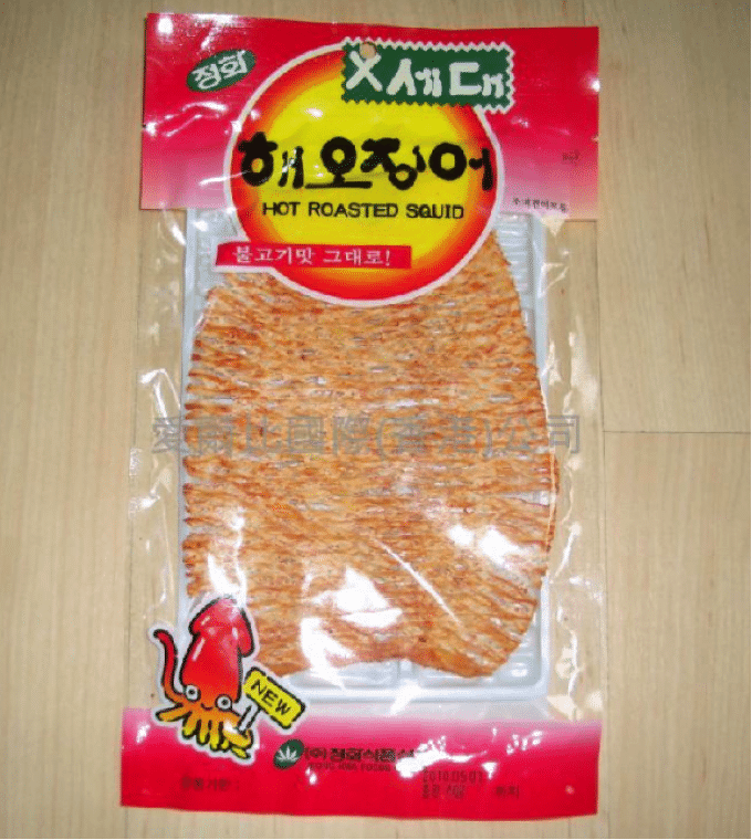 Korean Snacks 7 Dried Squid