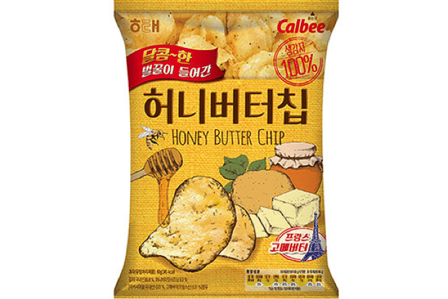 Korean Snacks 8 Honey Butter Chips
