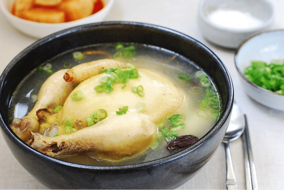 Korean Summer Food 1 Samgyetang