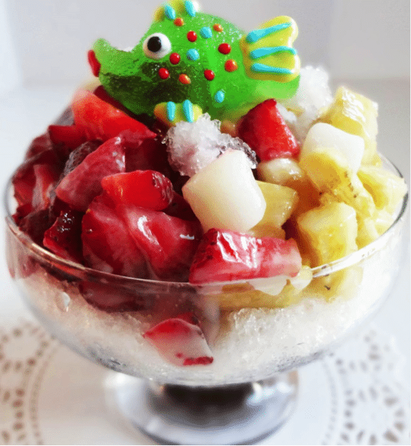 Korean Summer Food 3 Patbingsu
