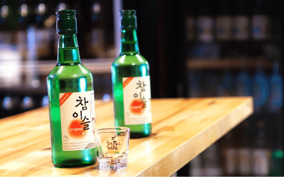 Korean alcohol soju