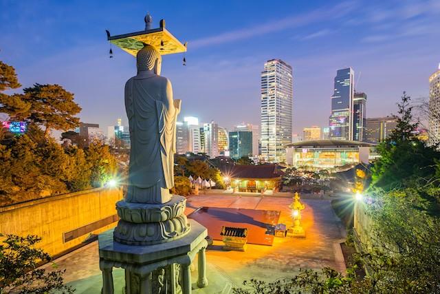 Buddhas birthday in Korea