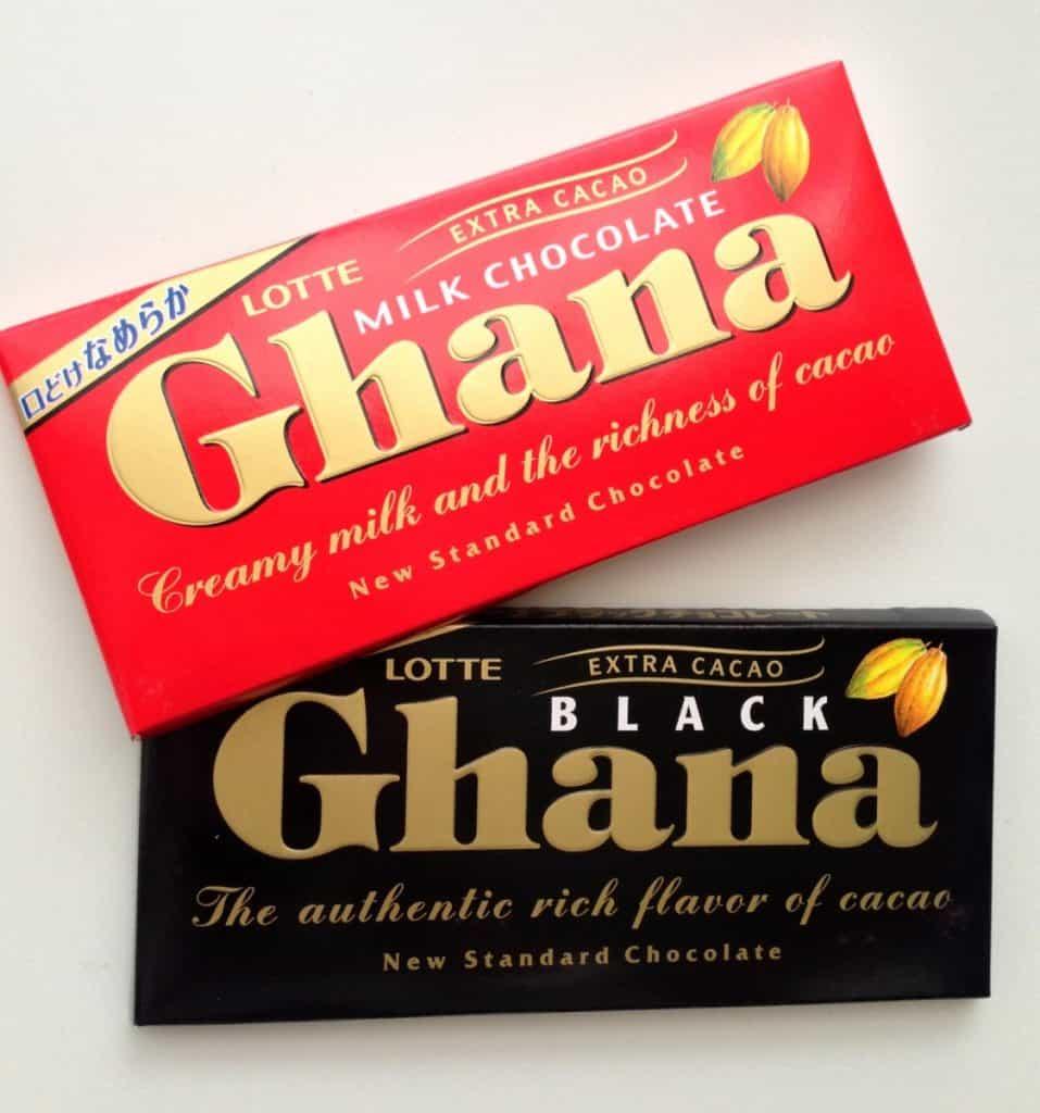 Ghana milk chocolate