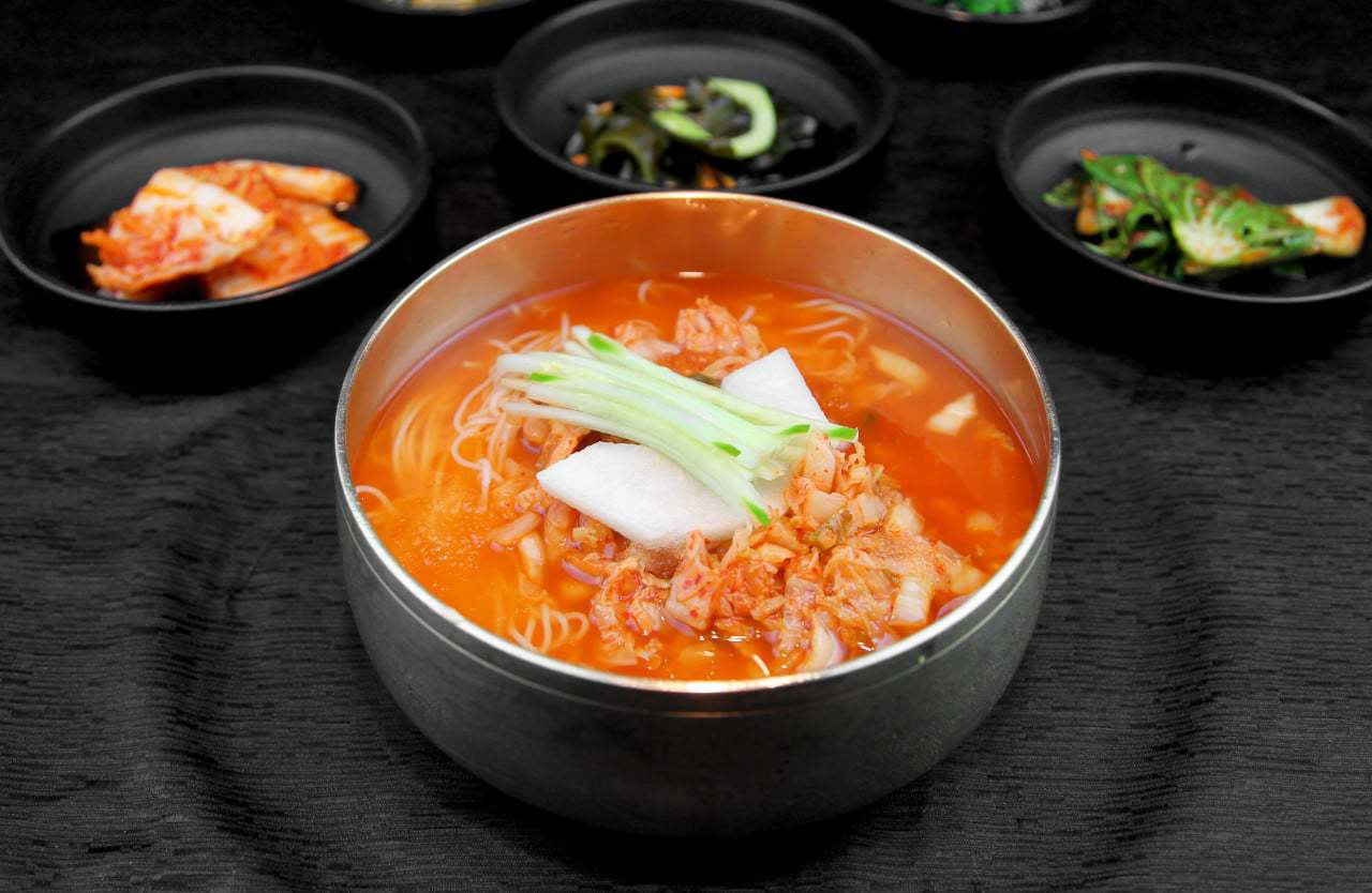 Korean summer food