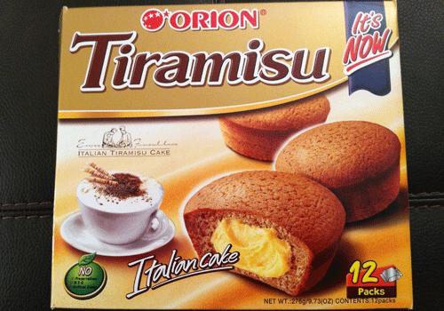 Orion tiramisu