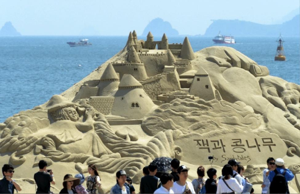 Korean Summer Festival Haeundae Sand Festival