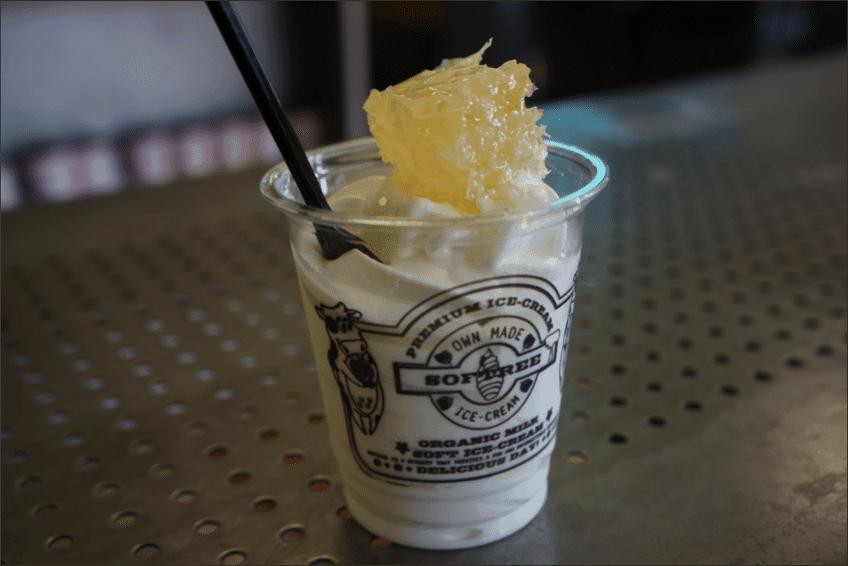 Korean Ice Cream 1 Softree - Honeycomb Ice Cream