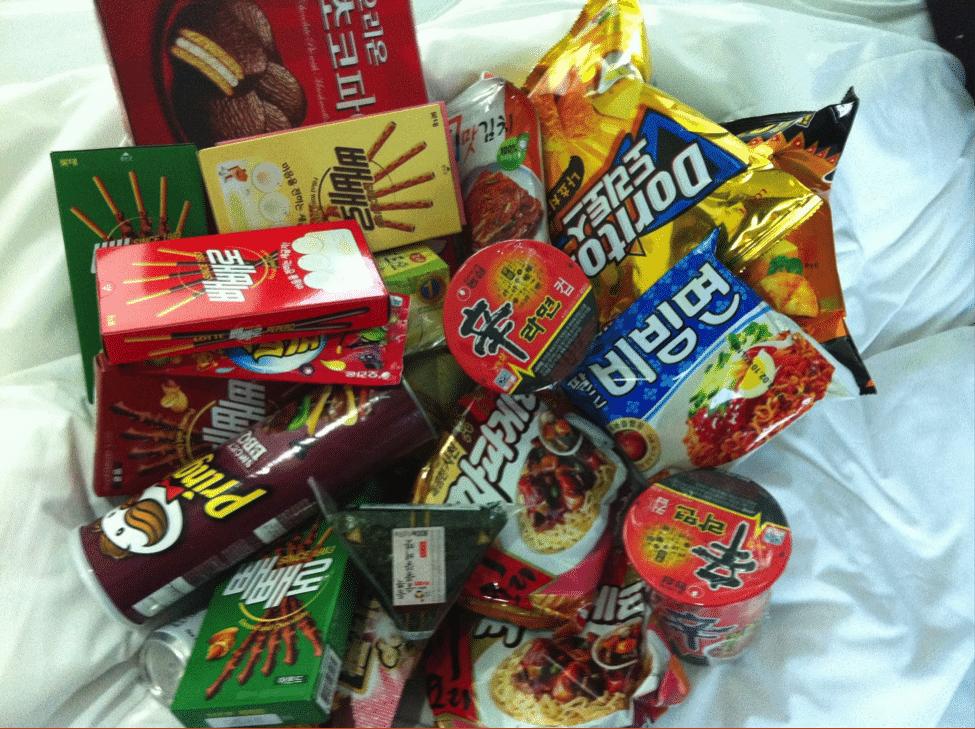 Korean Souvenirs 9 Korean Snacks